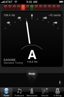 High Contrast Tuner Mode