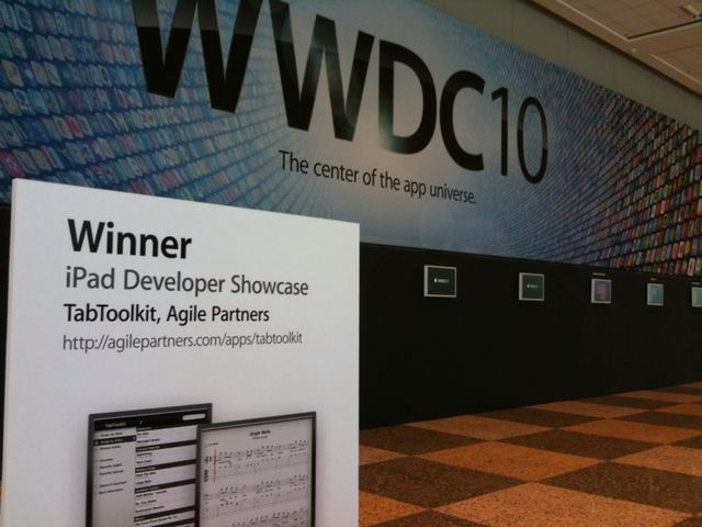 WWDC 2010 Apple Design Award for TabToolkit