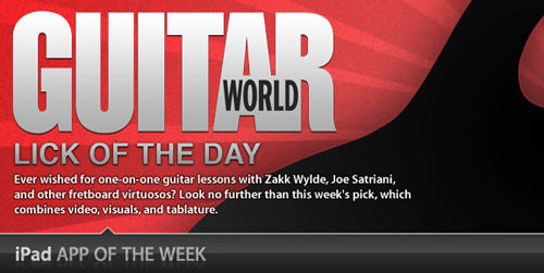 Lick of the Day App of the Week Feature