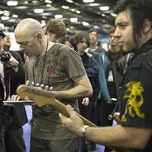 Jordan Rudess and Rob Math