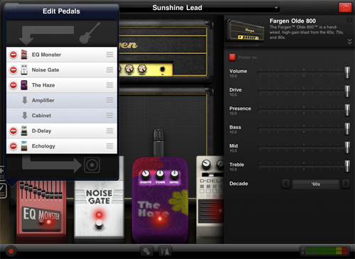 AmpKit 1.2 Sunshine Lead iPad Setup