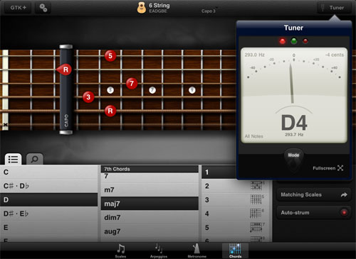 GuitarToolkit Chord Browser