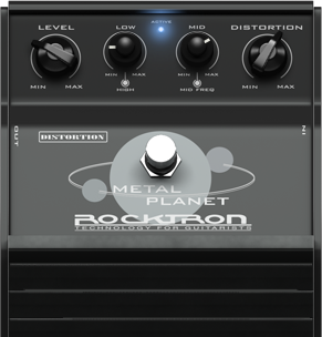 Rocktron Metal Planet Pedal