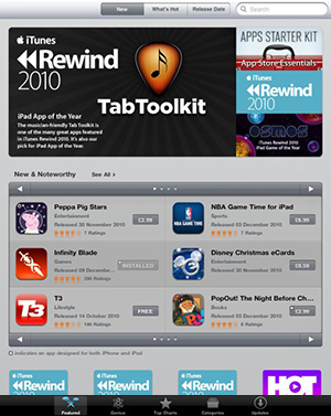 TabToolkit iTunes UK App of the Year