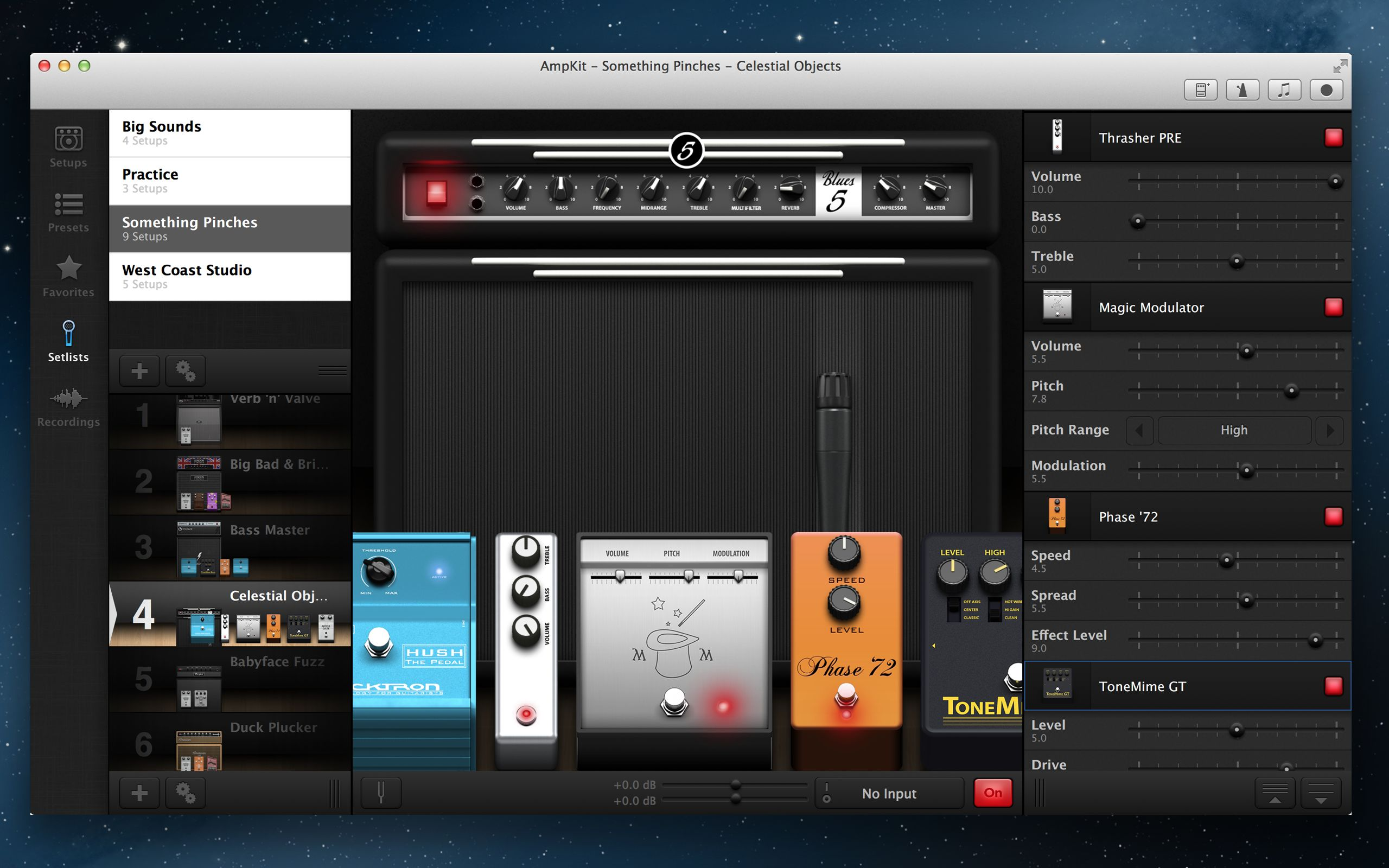 Fuzz Setup screenshot