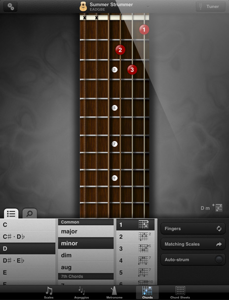 Guitar 12 string guitar chords : Agile Partners - GuitarToolkit