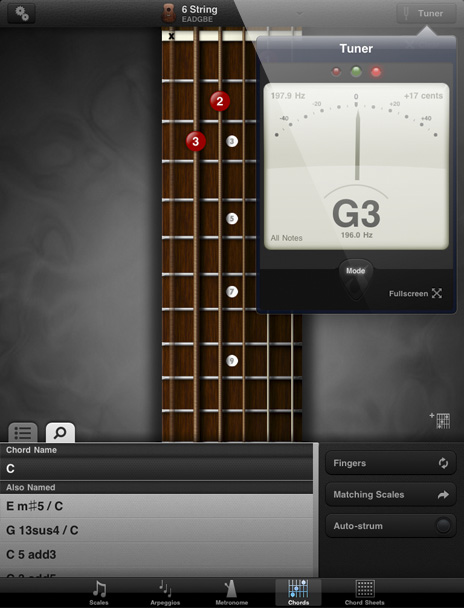 GuitarToolkit - Tuner