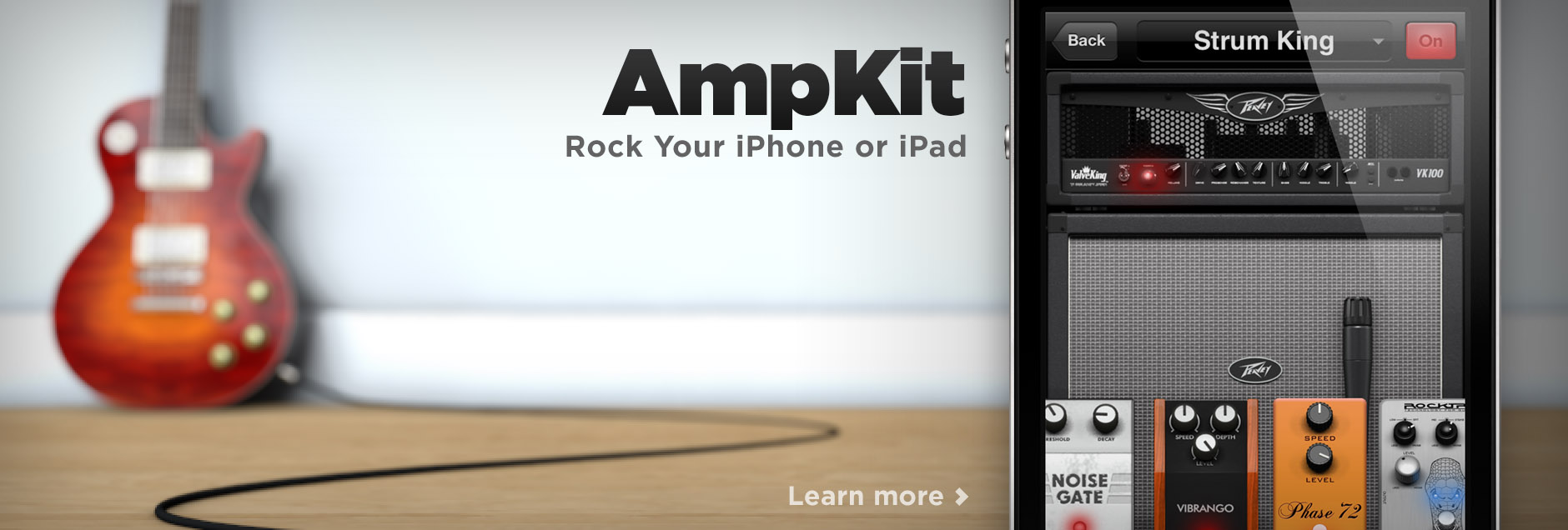 AmpKit - Rock your iPad, iPhone or iPod touch