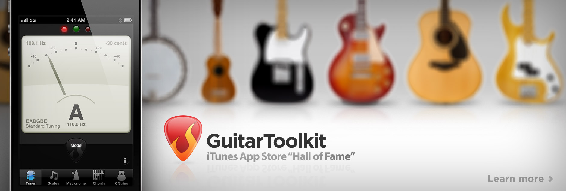 GuitarToolkit - Lighten your gig bag