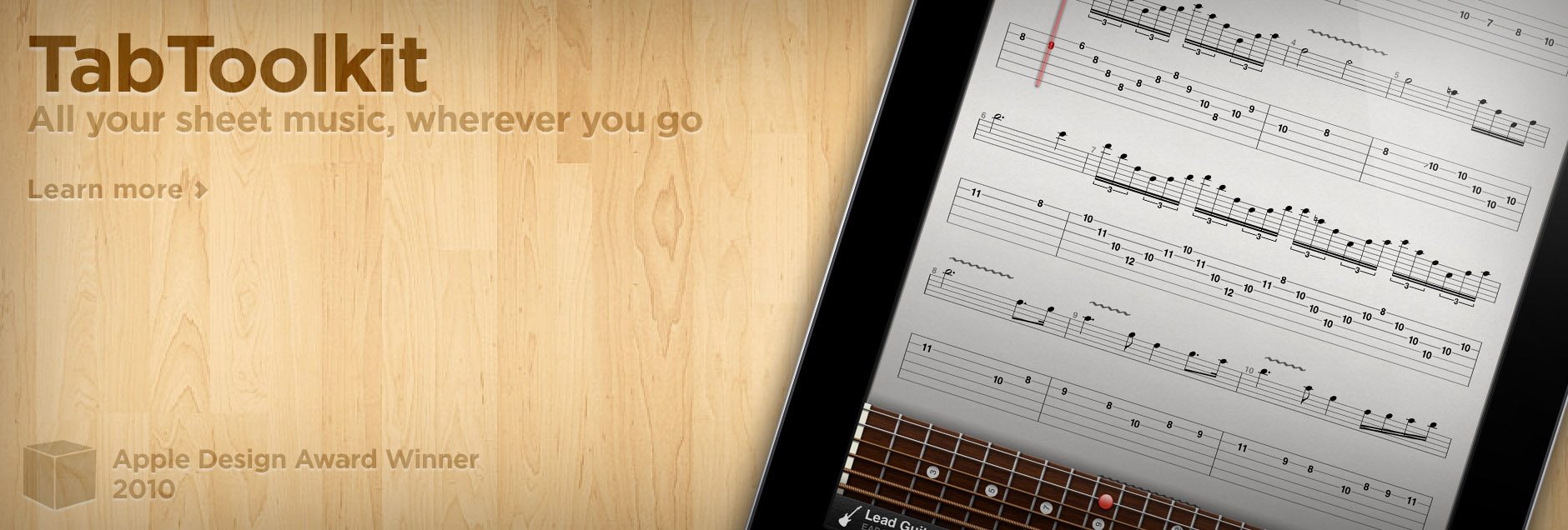 TabToolkit - All your sheet music wherever you go