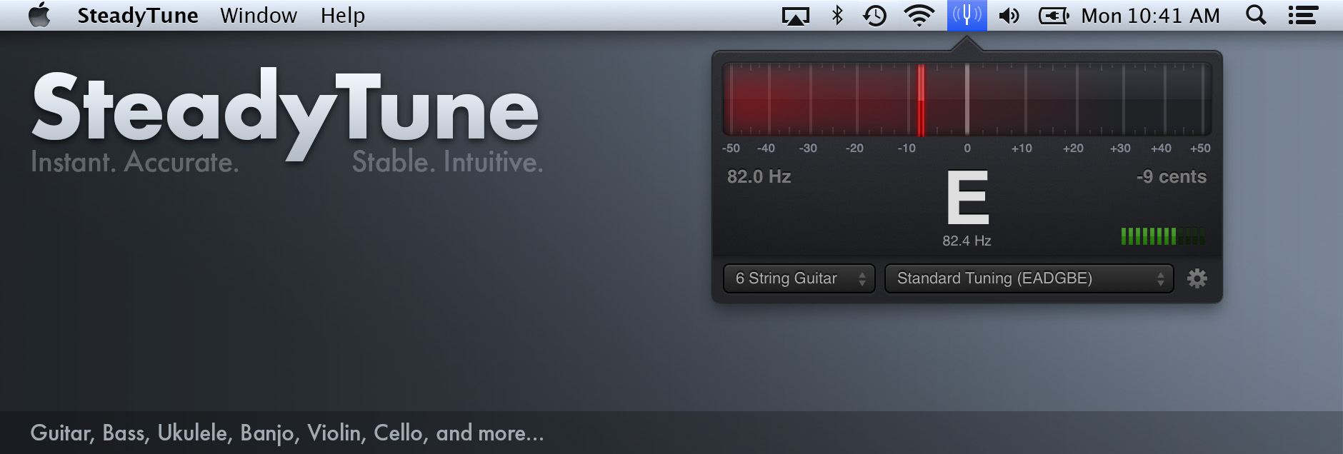 SteadyTune feature image