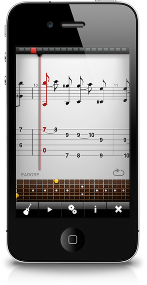 TabToolkit - iPhone sheet music