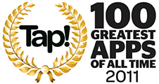 Tap! 100 Greatest Apps 2011
