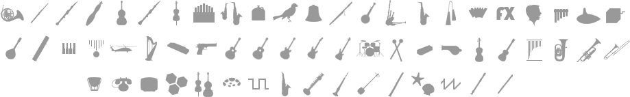 TabToolkit instrument icons